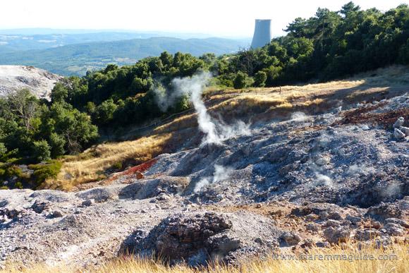 Geothermal Park Biancane Monterotondo Marittima Maremma Tuscany