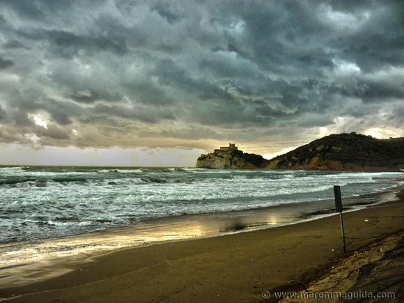 Le Rocchette beach
