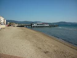 Lido di Follonica beach, Maremma Tuscany Italy