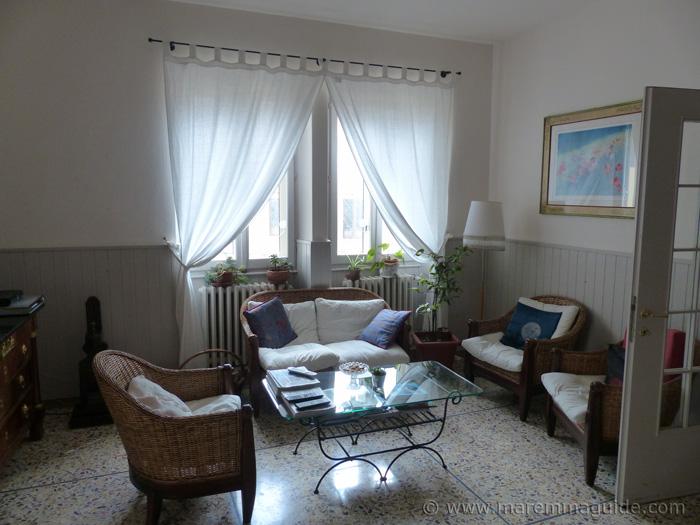 Locanda la Pieve hotel Sepmroniano living room