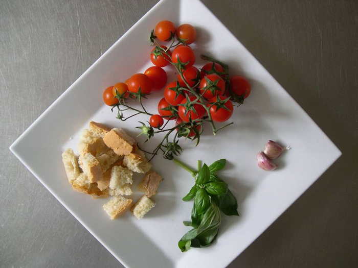 Dinner at Locanda La Pieve hotel in Semproniano