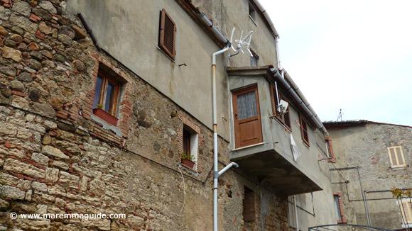 Lusitgnano Tuscany apartment
