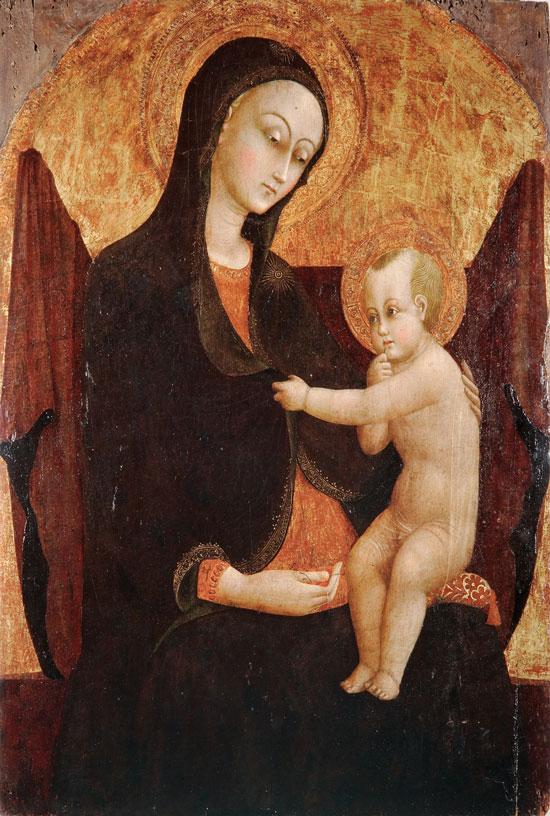 Madonna delle ciliege in Grosseto by Stefano di Giovanni.