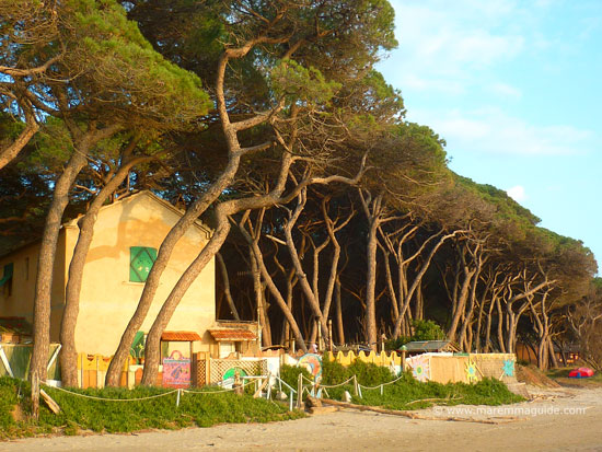 Maremma house on the beach, Golfo di Folonica