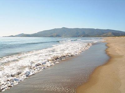 Maremma beaches Italy