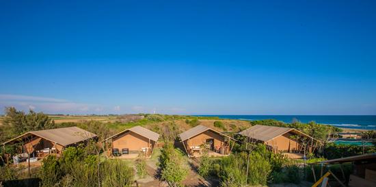 Maremma campsites on the beach Italy