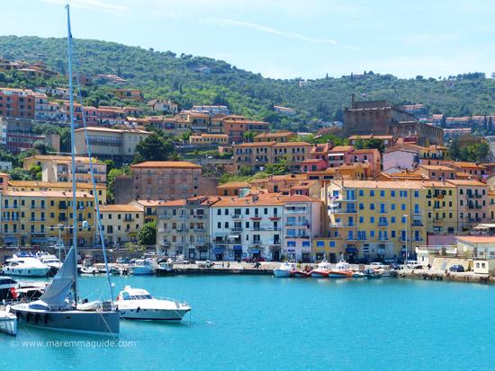 Maremma Italy beach towns: Porto Santo Stefano, Monte Argentario Tuscany