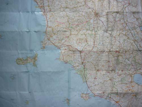 Maremma Italy map