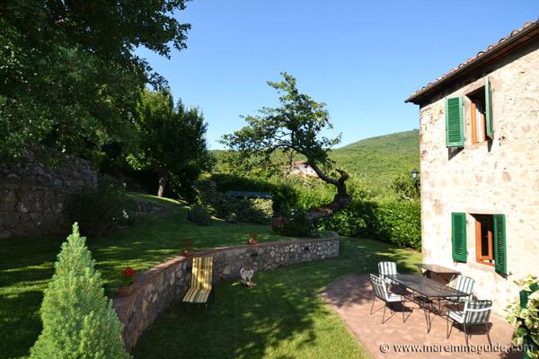 Tuscany house garden