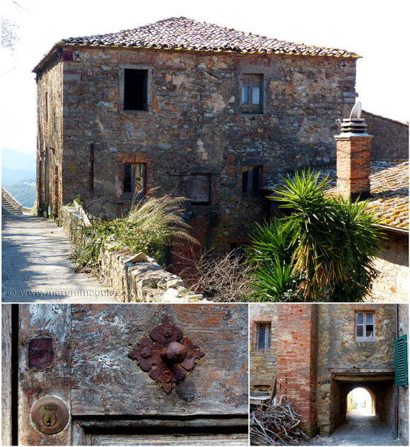 Maremma real estate: hill top villa in need of loving restoration
