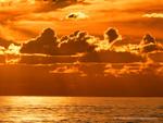 Maremma sunset in November