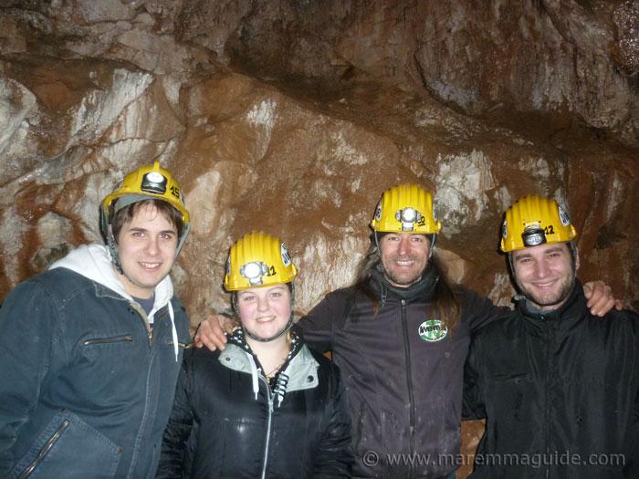 Maremma tours underground: Tuscany day trips like no others!