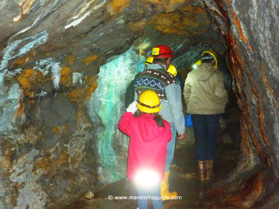 Maremma Tuscany mine tour: Galleria Giulia Massa Marittima