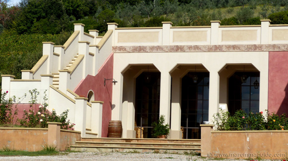 Tuscany villa with winery