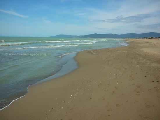 Marina di Grosseto beach, Maremma Tuscany
