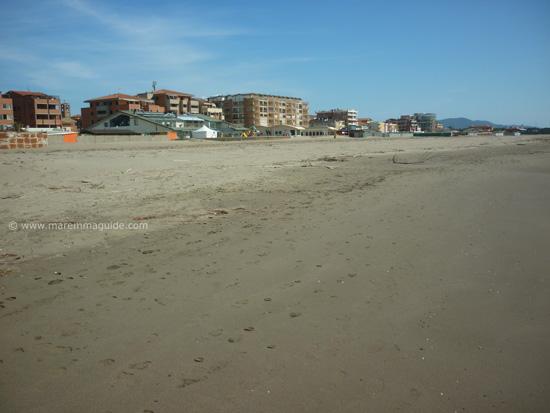 Marina di Grosseto beach Tuscany