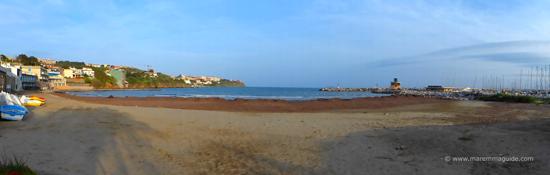 Marina di Salivoli spiaggia: Piombino beaches
