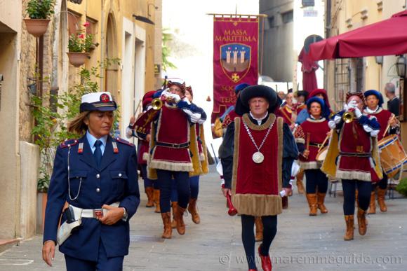 Festa di San Cerbone, Massa Marittima Tuscany in October