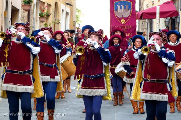 Festa di San Cerbone Massa Marittiam musicians