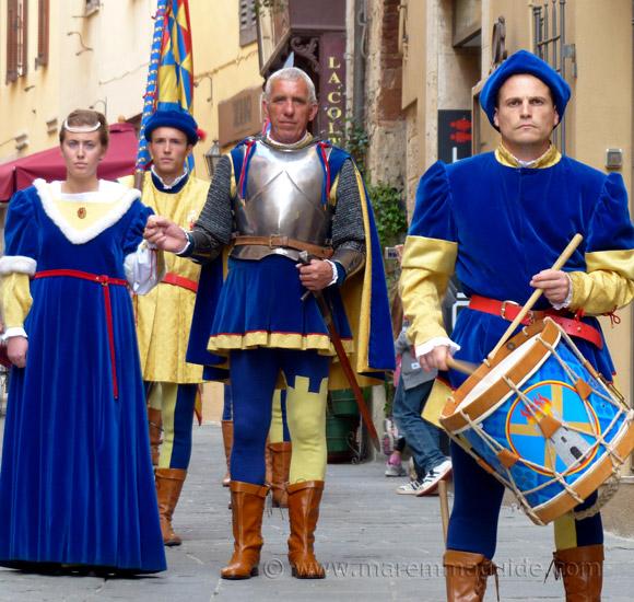 Massa Marittima Festa di San Cerbone: Terziere di Borgo