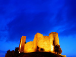 Medieval castles in Tuscany Maremma Italy
