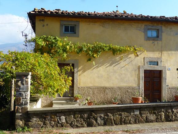 House in Montegiovi Tuscany.