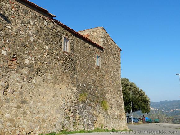 Castello di Montegiovi, Maremma Tuscany.