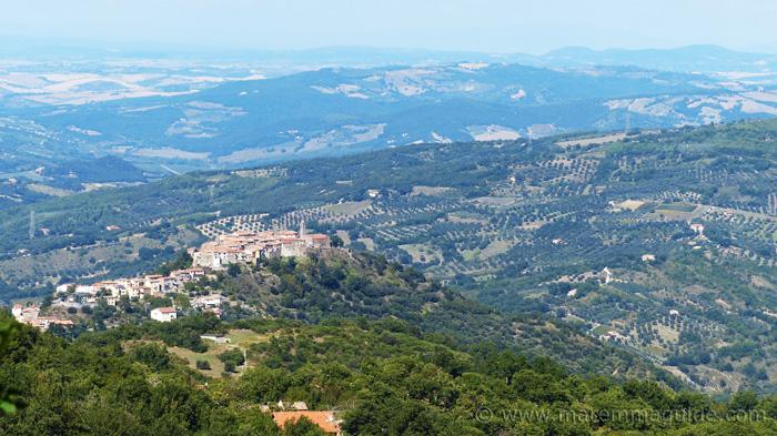 Montegiovi and the Val del Conca d'Oro Tuscany
