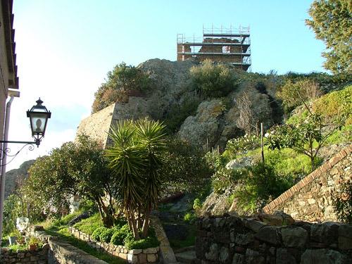 A garden/allotment in Montemassi, Roccastrada, Maremma