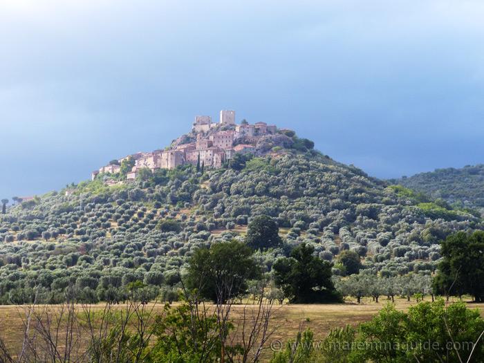 Montemassi Tuscany Italy.