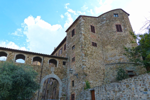 Montemerano Porta Grossetana and Cassero Senese