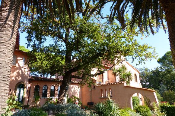 Montemerano hotels: Villa Aquaviva Winery