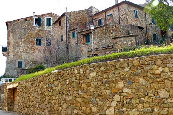 Montemerano historic buildings