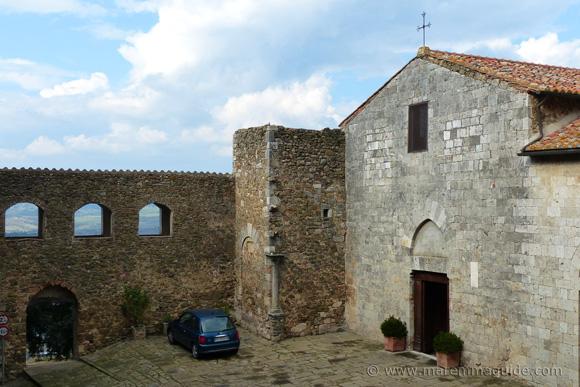 Chiesa San Giorgio, Montemerano Italy