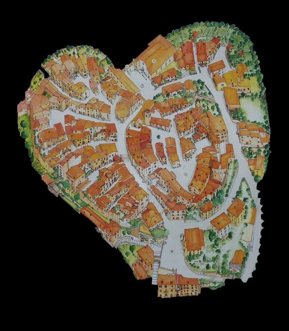 Montemerano map
