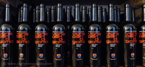 Morellino di Scansano DOCG Vigna Pian di Giomo Rosso della Maremma Toscana wine
