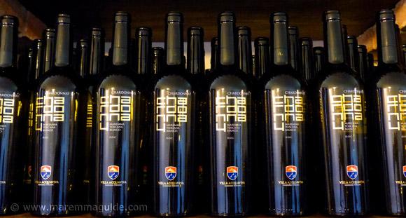 Maremma white wine: IGT Tuscan Maremma Chardonnay