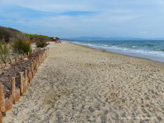 Mortelliccio spiaggia Riotorto Piombino beaches Maremma