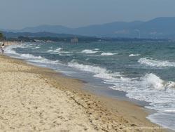 Mortelliccio beach Piombino Riotorto Maremma Tuscany