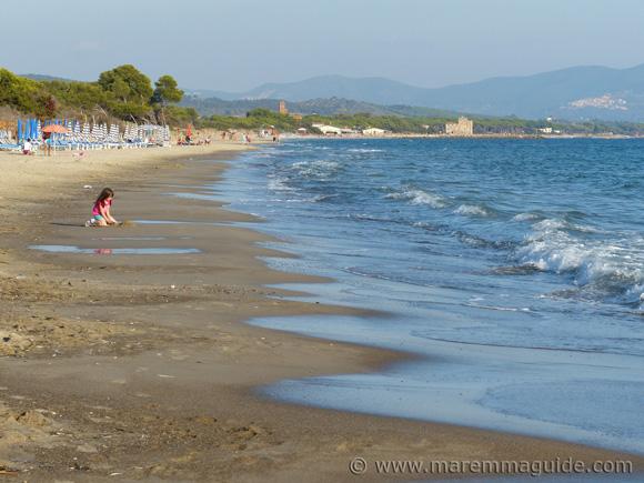 Mortelliccio Piombino beach Tuscany Italy