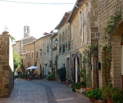 October in Sovana Maremma Tuscany Italy