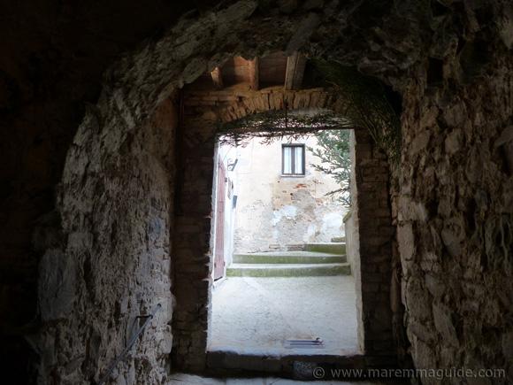 Underground in Seggiano Tuscany.
