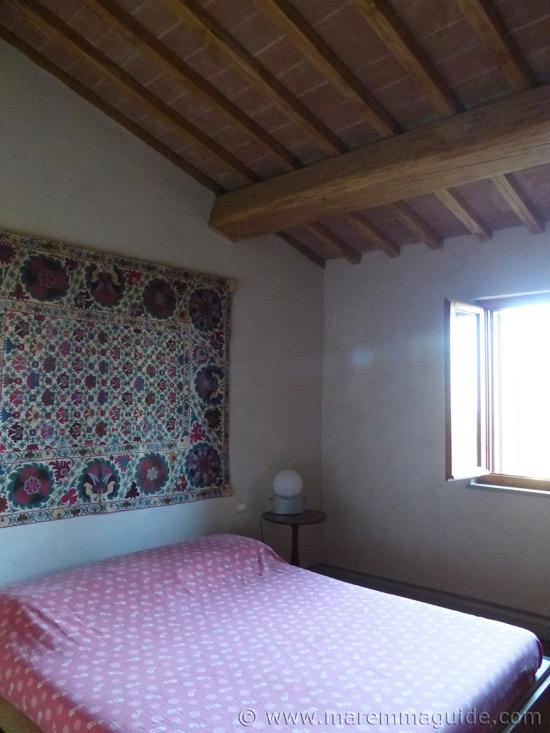 Tuscany farmhouse bedroom.