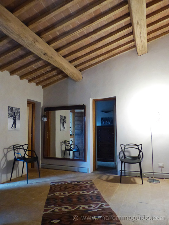 Old restored Tuscany farmhouse for sale.