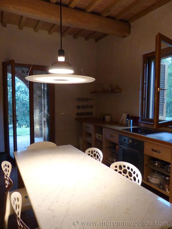 Tuscany farmhouse kitchen table