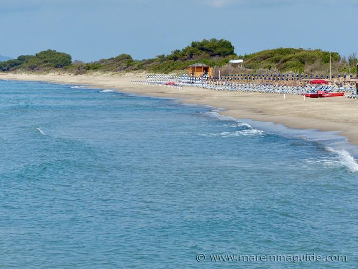 Onda Blu Carbonifera spiaggia Piombino