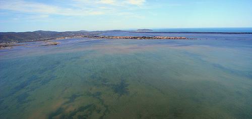 Orbetello Lagoon, Maremma. East side