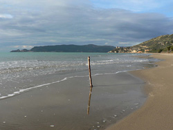 Osa Fonteblanda beach Maremma Italy