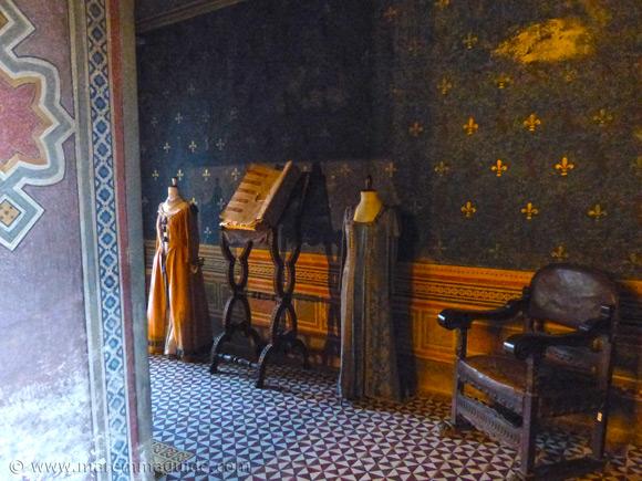 Puccini sala in Palazzo Collacchioni Capalbio Tuscany.