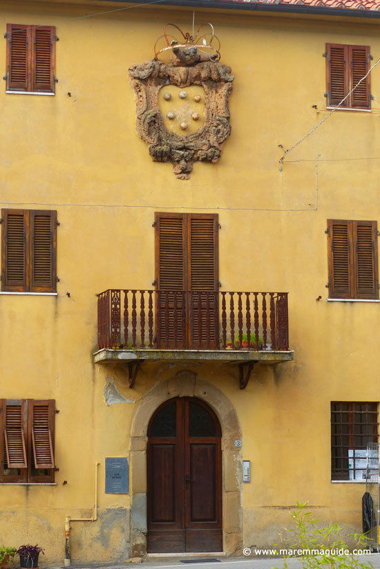 Palazzo della Diregenza in Valpiana, Massa Marittima